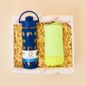 Caja para atletas botella y toalla