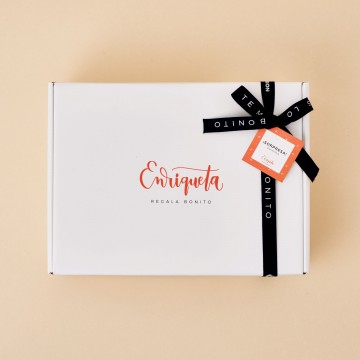 Caja regalo blanca Enriqueta