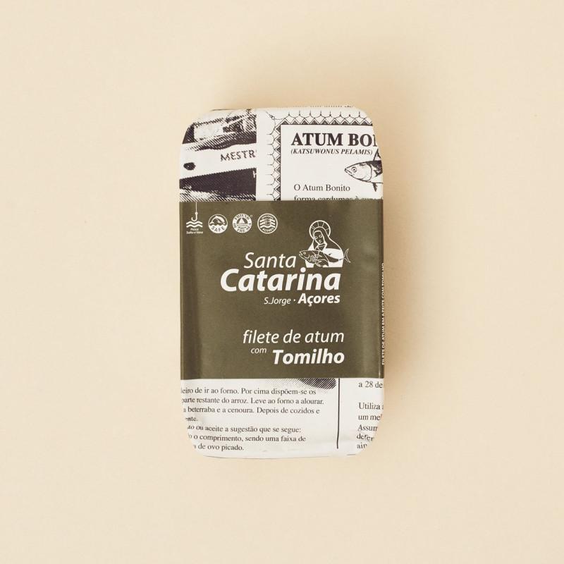 Filete de atún con tomillo Santa Catarina