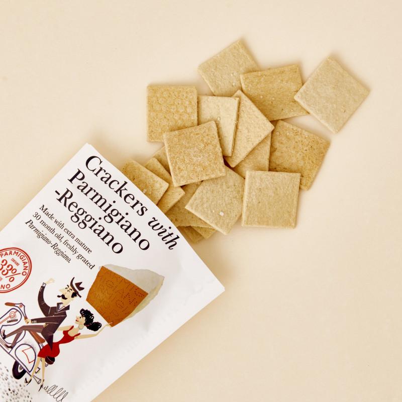 Crackers Parmigiano Reggiano de Fine Cheese&Co
