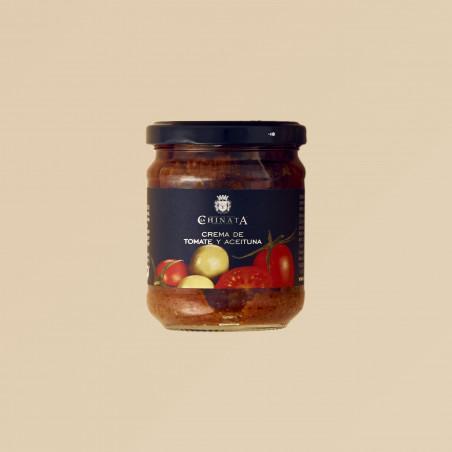 Crema de tomate y aceitunas La Chinata