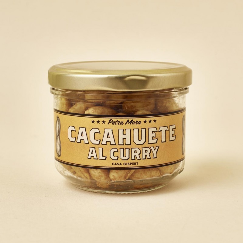 Cacahuetes al curry Petra Mora