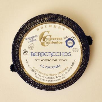 Berberechos al natural de Conservas de Cambados