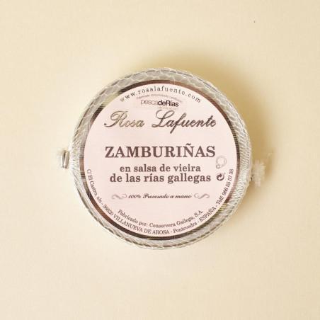 Zamburiñas en salsa de vieira de Rosa Lafuente