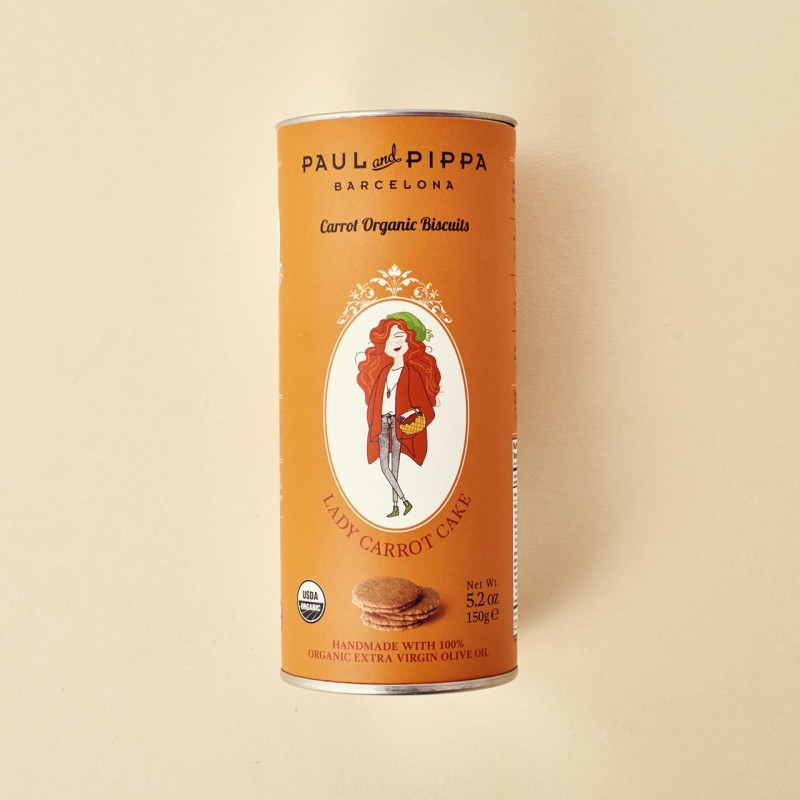 Galletas ecológicas de zanahoria Paul&Pippa