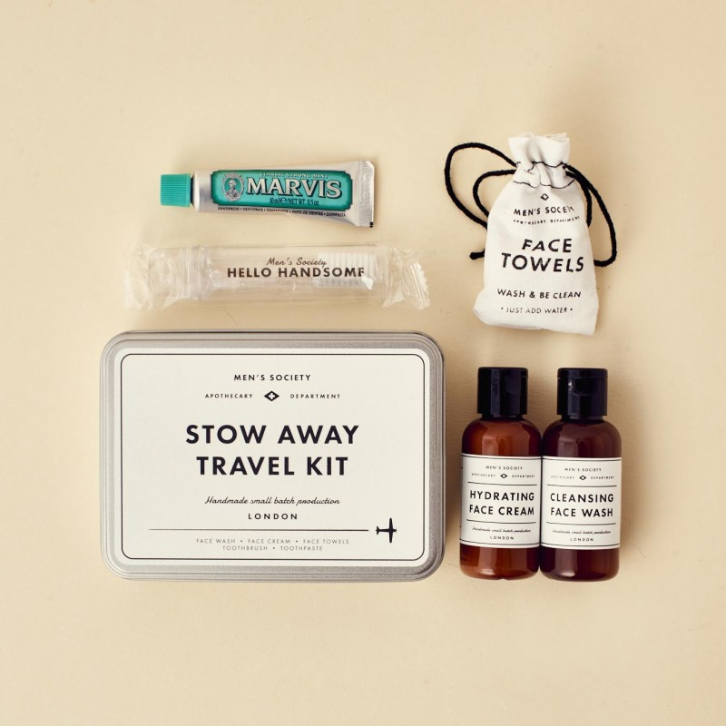 Kit de viaje Stow Away Travel de Men's Society