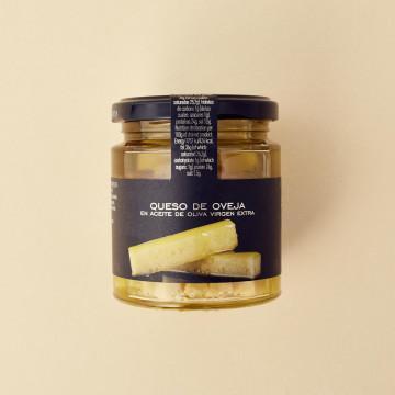 Queso en aceite de oliva de La Chinata