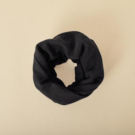 Buff tubo de invierno negro