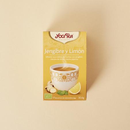 Té jengibre-limón de Yogi Tea
