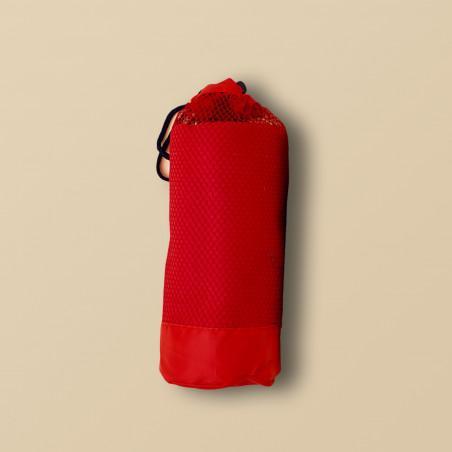 Toalla de microfibra roja
