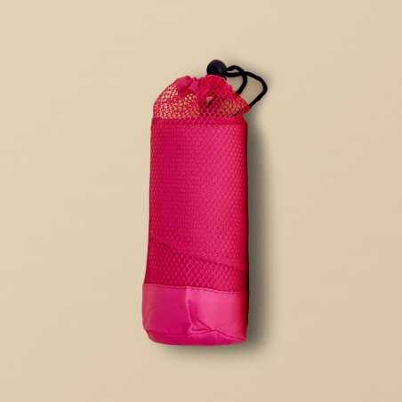 Toalla de microfibra rosa