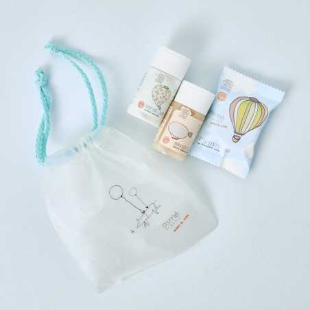 Mini neceser con cosmética para bebé de Osmé
