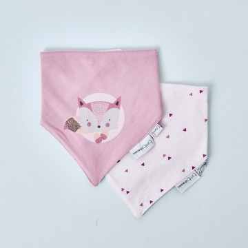 Set dos bandanas Fox de Bimbi Dreams