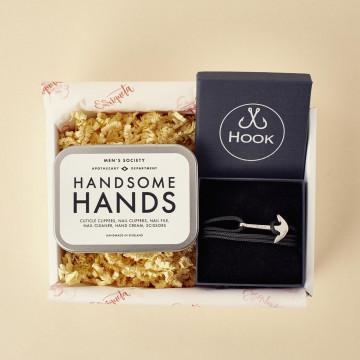 Kit de manicura para hombres con pulsera Hook