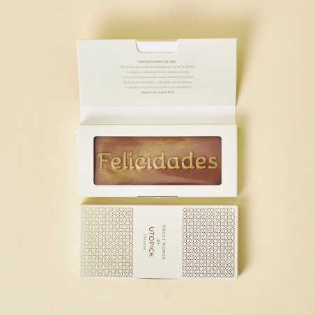 "Chocolate Utopick ""Felicidades"" + Packaging de lujo"