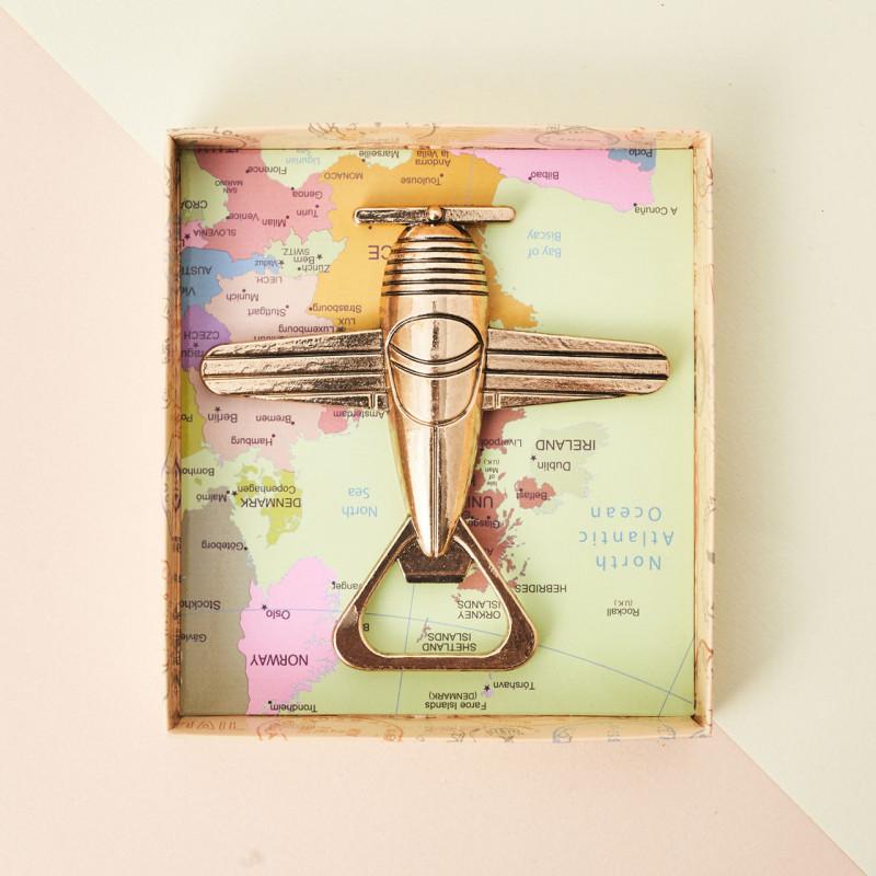 """Abridor """"Bon voyage""""en caja regalo"""