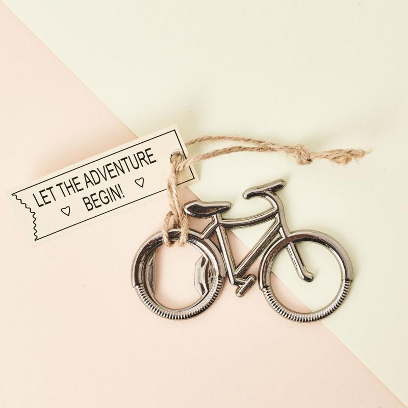 Abridor bicicleta de metal