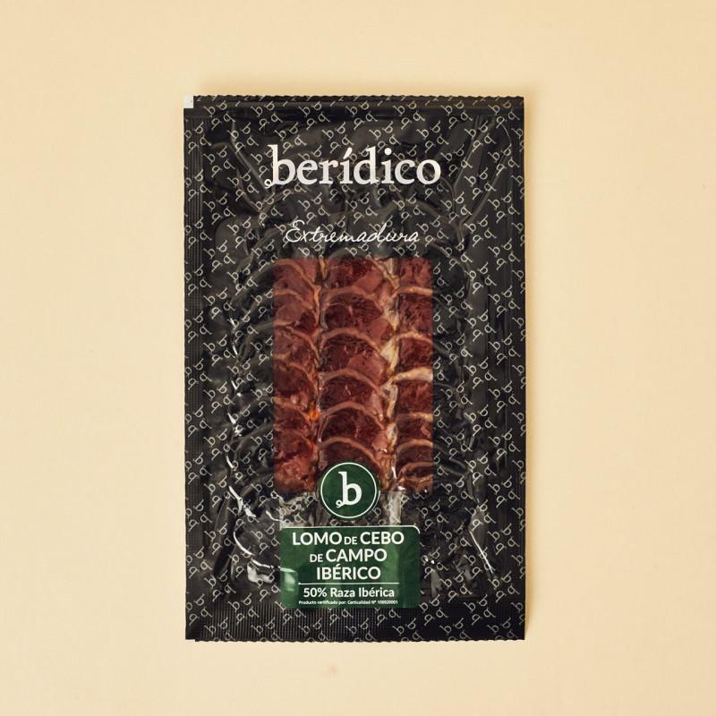 Jamón de bellota ibérico 100% de Berídico
