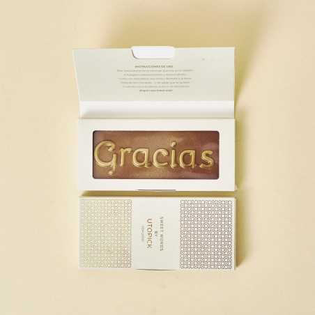 "Chocolate ""Gracias"" + packaging de lujo"