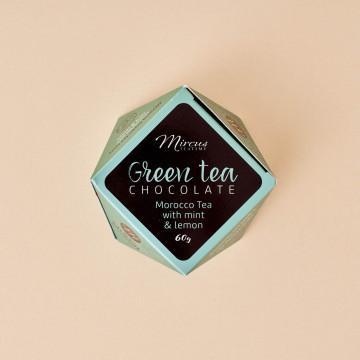 Bombones de Té Verde Morocco con menta y limón Mi&Cu