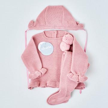 Conjunto invierno bebé niña