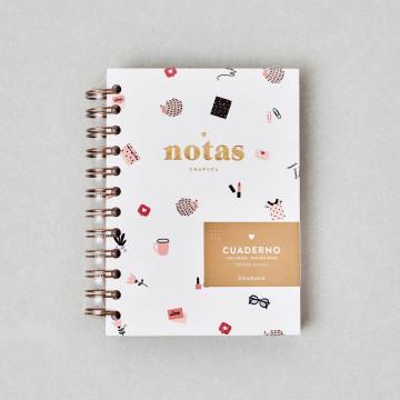 Cuaderno de notas Charuca