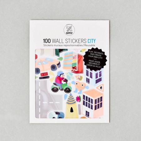100 Pegatinas Motivos Ciudad