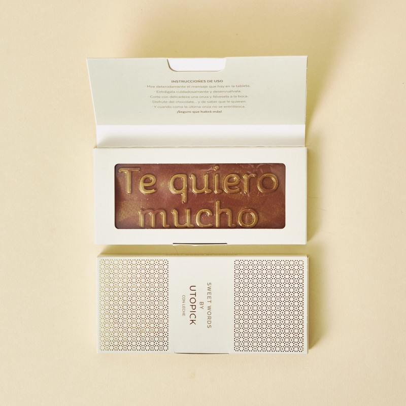 "Chocolate ""Te quiero mucho""+ Packaging Deluxe"
