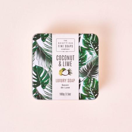 Jabón de manos Lima y Coco Scottish Fine Soap