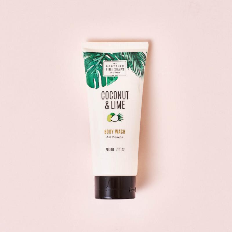 Gel de ducha de Lima y Coco Scottish Fine Soap