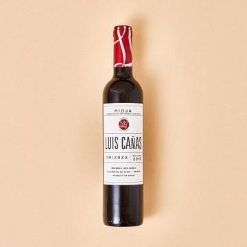 Vino Luis Cañas, botella de 500 ml