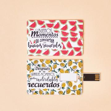 """Tarjeta USB """"Inolvidables recuerdos"""""""