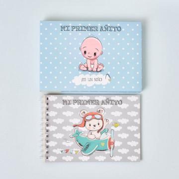 """Diario """"Mi primer añito"""" Niño"""