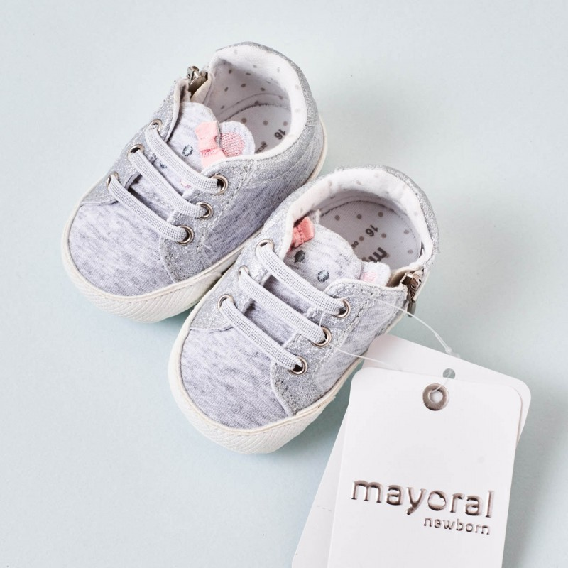 Zapatillas deportivas gris bebé Mayoral