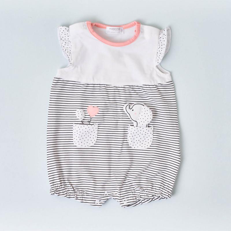 Set 2 pijamas elefante niña Mayoral
