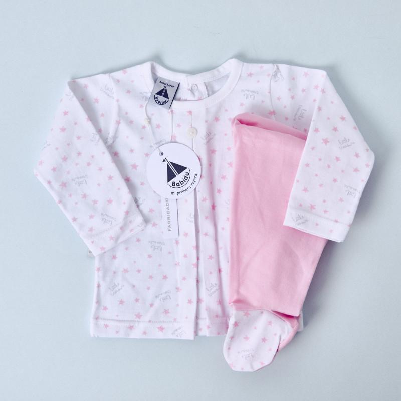 pijama babidu estrellas rosa