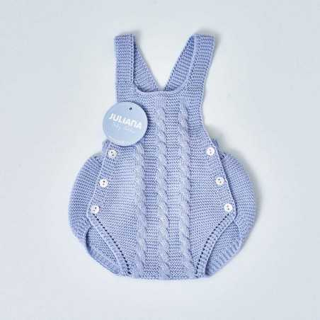 Peto punto azul bebé niño Juliana