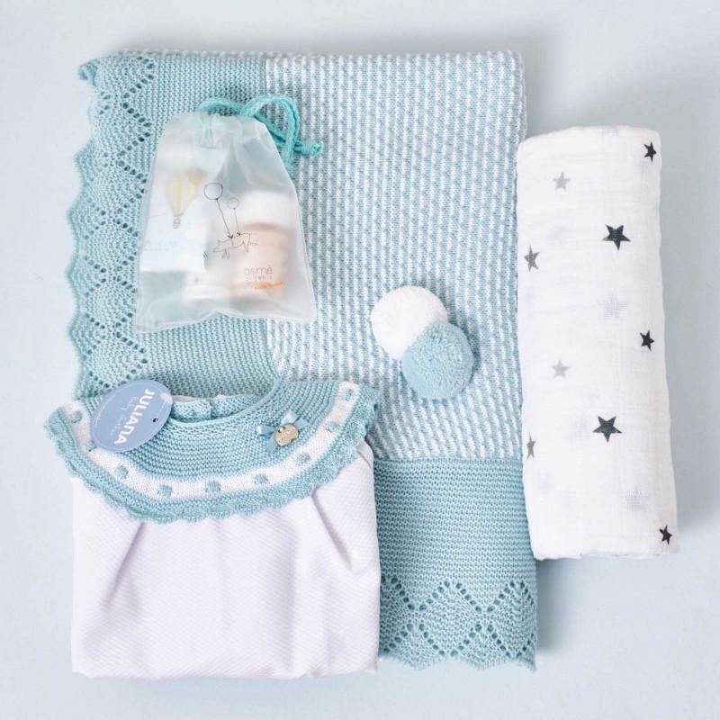 Canastilla para el bebé de verano