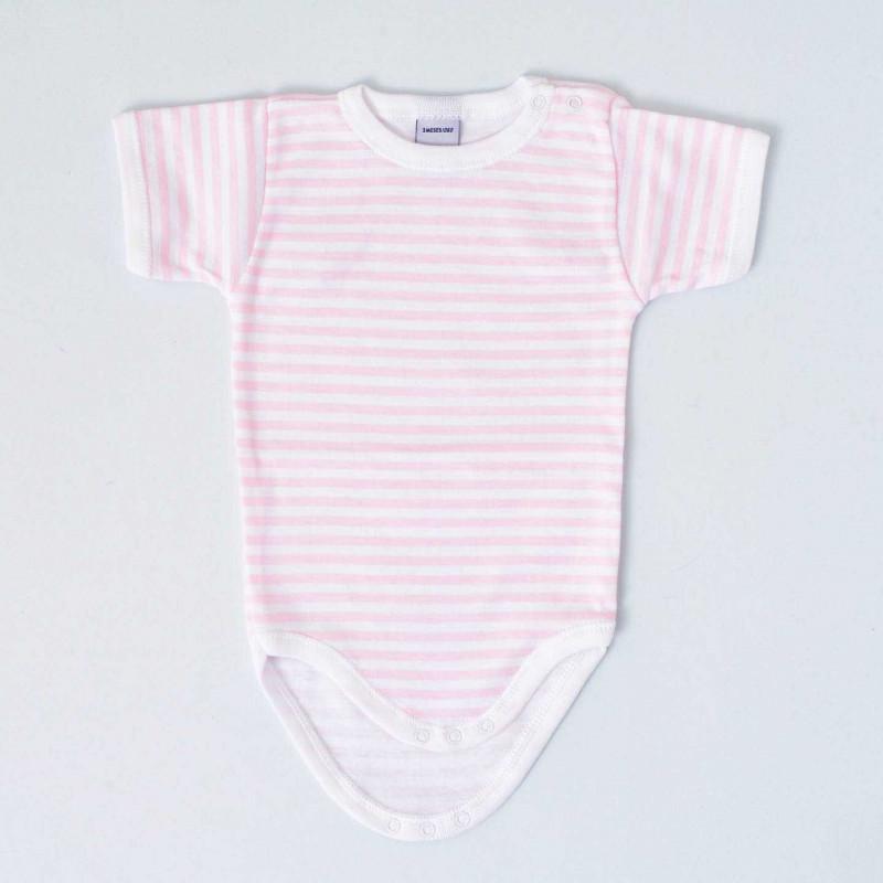 Body bebé Badidú en color rosa, modelo Navy