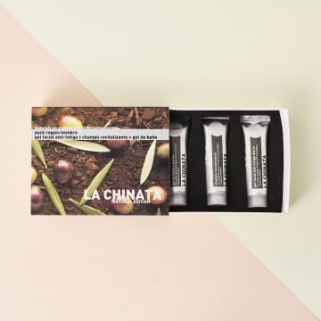 Pack cosmética natural para hombre La Chinata