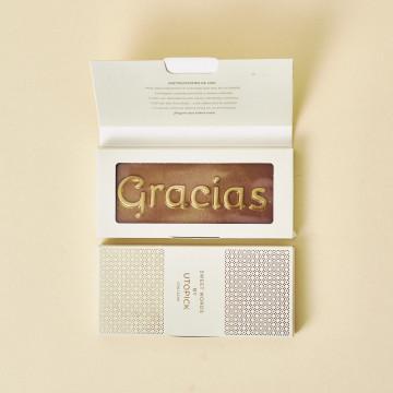Tableta chocolate premium Utopick Gracias