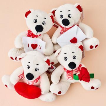 Oso Peluche Amoroso para San Valentín