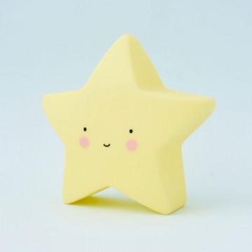 Luz estrella rosa de A Little Lovely Company
