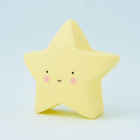 Luz quitamiedos bebés estrella amarilla de A Little Lovely Company