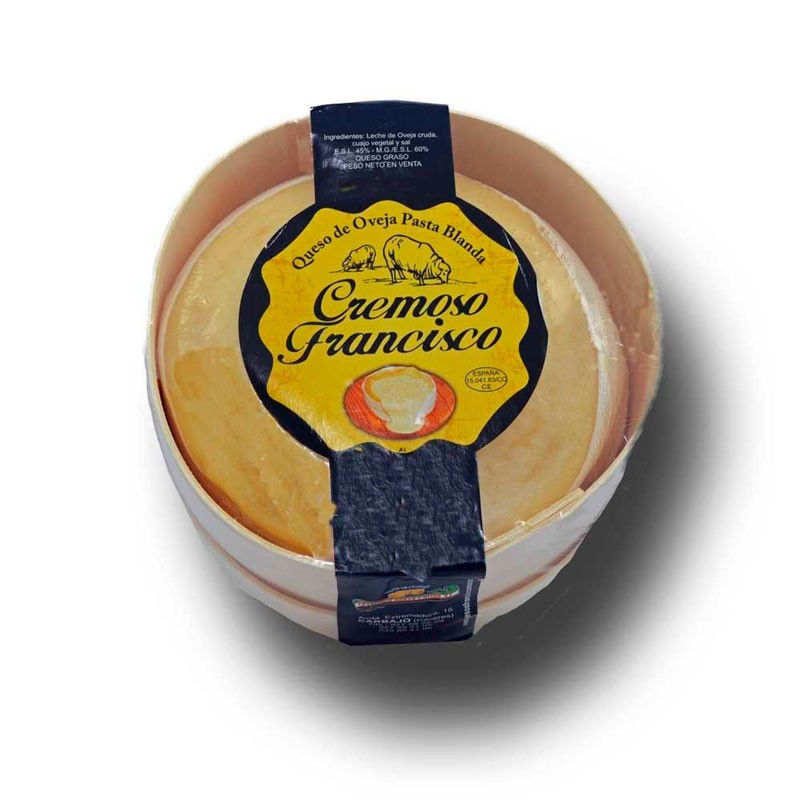 Torta cremosa de queso de oveja Francisco Morán