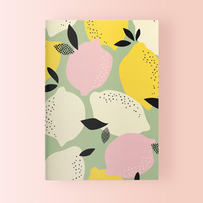 Libreta Bonita y Original Lemons teNeues, 10x15 cm