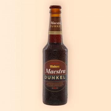 Cerveza Mahou Maestra Dunkel