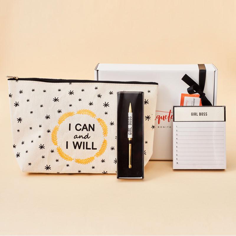Regalos para una Mujer: Pack Neceser, Bolígrafo y Papelería Bonita