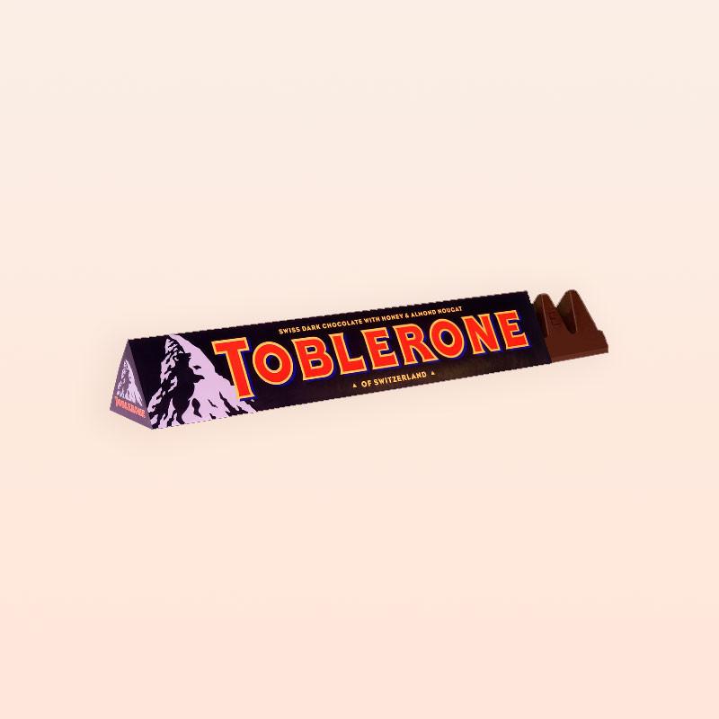 Toblerone Chocolate Negro