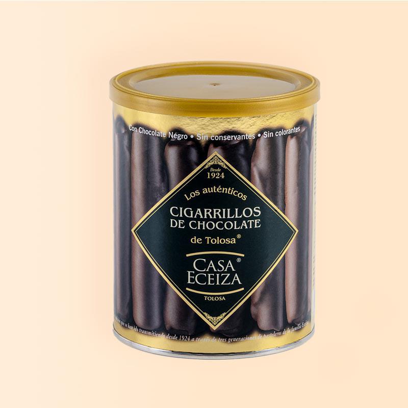 Cigarrillos de Chocolate Casa Eceiza, bote 200 g.